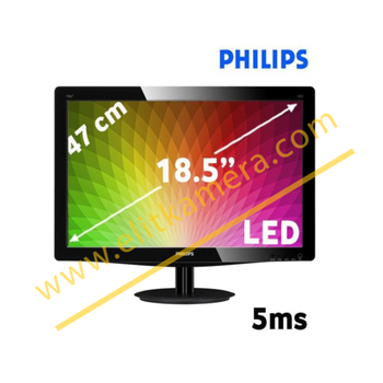 "PHILIPS 193V5LSB2/62 18.5"" 5ms (Analog) LED MONÝTÖR"