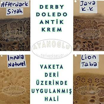 DERBY DOLEDO ANTÝK KREM - AFTERDARK (SÝYAH)