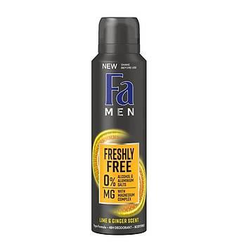 Fa Men Deosprey Lime & Gringer Deodorant 150 ml