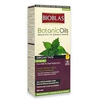 Bioblas Botanic Oils Isýrgan Yaðlý Þampuan 360 ml