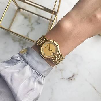 Vintage Accurate Gold Kadýn Kol Saati