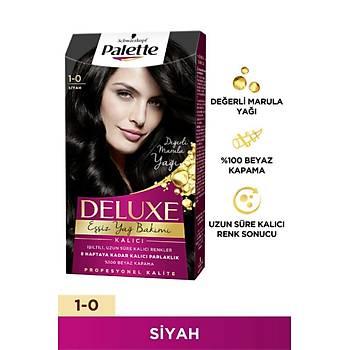 Palette Deluxe 1-0 Siyah Saç Boyasý 14027