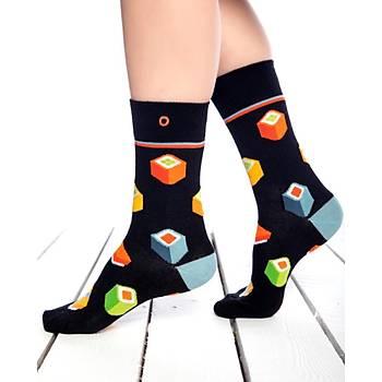 Sushi Renkli Çorap