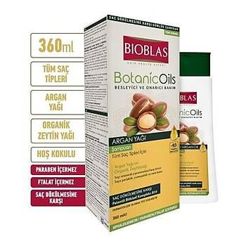 Bioblas Botanic Oils Argan Þampuan 360 ml