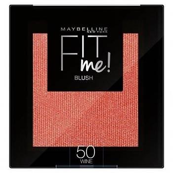 Maybelline New York Allýk - Fit Me Blush 50 Wine 3600531537357