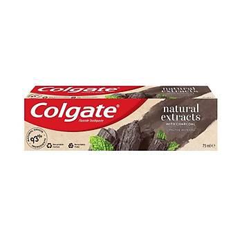Colgate Colgate Diþ Macunu Natural Extracts Aktif Kömür 75ml