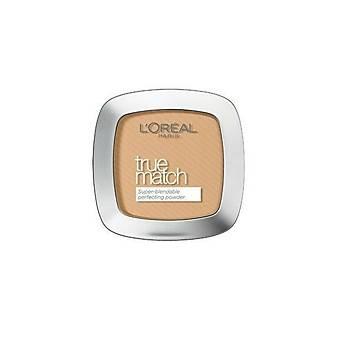 L'Oreal Paris Pudra - True Match Powder 3.D 3.W Golden Beige 3600520772035