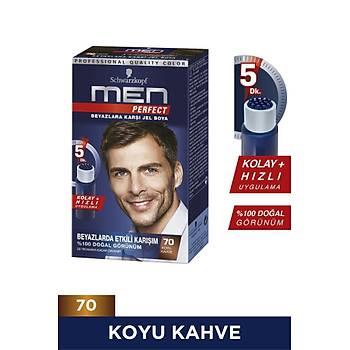 Men Perfect Koyu Kahve (70) Saç Boyasý