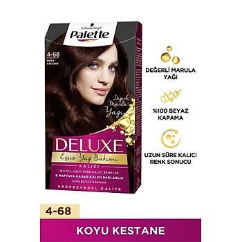 Palette Deluxe 4-68 Koyu Kestane Saç Boyasý