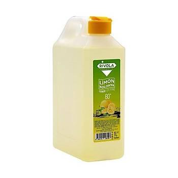 Rivola 1 Litre Limon Kolonyasý 80c