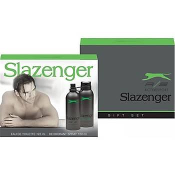 Slazenger Active Sport Yeþil Erkek Parfüm Seti