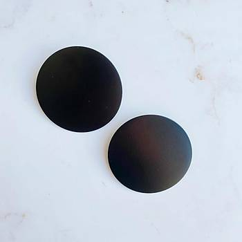 Siyah Mat Küpe