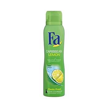 Fa Carrýbean Lemon Deo Spray 150 ml