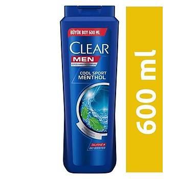 Clear Men Cool Sport Menthol Erkek Þampuan 600 ml