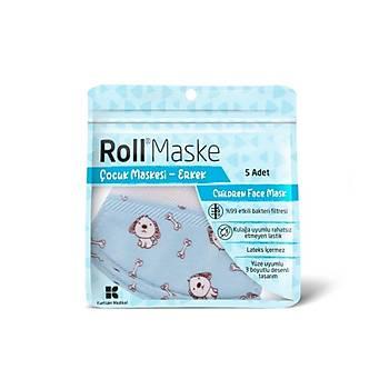 Roll Çocuk Maskesi - Erkek