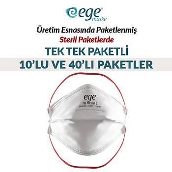 Ege 700 N99 FFP3 NR D Maske 40'lý Paket
