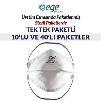Ege 600 FFP2 Maske 40'lý Paket