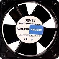 120x120x38 mm demex marka rulmanlý kare fan 220 vac metal kanat