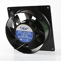 tidar 170x170x51 mm 24 v dc yuvarlak fan