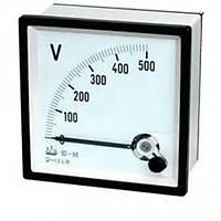 72x72 Analog Voltmetre 500 VAC
