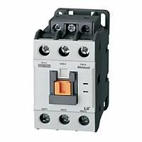 MC-40a LS 3 Kutup Güç Kontaktörü 1NA+1NK 40A AC220V 50/60Hz 1a1b
