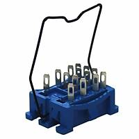 Finder 94.24 SMA 55.32 ve 55.34 Röleler için Panel Montaj Soket 094.51 Metal Kilit Clips
