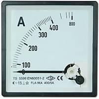 96x96 Analog Ampermetre 100 A - AC