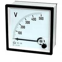 96x96 Analog Voltmetre 500 VAC