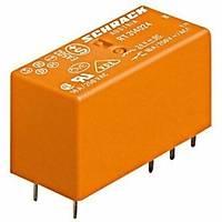 Schrack RZ01-1C4-D012-R 012VDC 1C/O 12A PCB Röle 5 Pin 3.5mm