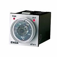 AT 411-RT-400 230VAC Analog Termostat PT-100 giriþ 400 C 48x48 mm