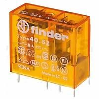 Finder 40.51.8.012 Serisi 12V AC Minyatür Pcb Röle