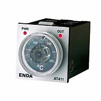 AT 411-FE-K-400 230VAC Analog Termostat j tipi giriþ 400 C 48x48 mm