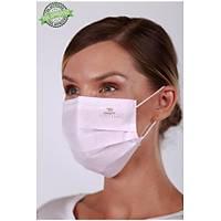DENTAC T-Mask CLA /  FDA Onaylý 3 Katlý Meltblown Filtreli Cerrahi Yüz Maskesi ( %99  BFE / PFE Filtrasyon ) Kýrmýzý
