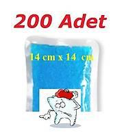 TERMO JEL - SOÐUK KOMPRES - SICAK KOMPRES (14 cm X 14 cm ) 200 Adet DENTAL KOMPRES ( KDV ve NAKLÝYE DAHÝL )