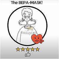 Bepa-Mask Þeffaf Týbbi Cerrahi Maske (%99,999 Korunma Saðlar )