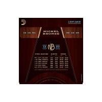 DADDARIO NB1253 Nikel Bronz Akustik Gitar Teli (12-53)