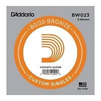 DADDARIO BW023 Akustik Tek Tel Bronze (Sol)