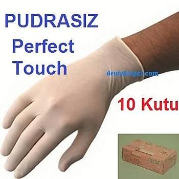 PUDRASIZ ELDÝVEN ( Perfect Touch ) - LATEX ANTÝALERJÝK 10 Paket (100 lük ) / Boy Seçebilirsiniz / KDV ve NAKLÝYE DAHÝL