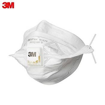 3M  FFP2 ( N95 i karþýlar) - Ventilli Yüksek Solunum Koruyucu Maske