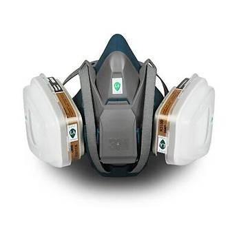3M 6502 Tam Koruyucu Solunum Maskeksi + 4 Adet Yedek Filtre
