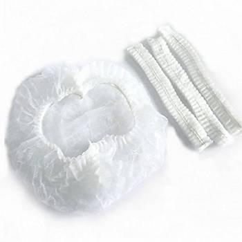 ŞİMAL Beyaz Bone 100 Adet - Körüklü