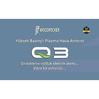 WOODPECKER Ortam Dezenfeksiyon Cihazý Q3 ( 40 m2 alan için yeterlidir )