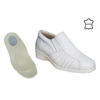 Topuk Dikeni Ayakkabýsý Bayan Beyaz EPTA-04B