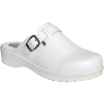 Topuk Dikenine Uygun Sabo Terlik Bayan Beyaz EPT202B