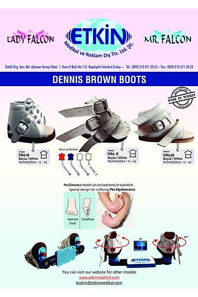 Dennis Brown Ponseti Ayakkabýsý DB01 (Pevli Çocuklar Ýçin)