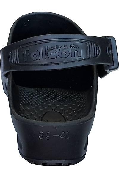 Falcon Siyah Atkýlý Antistatik Otoklavlanabilir Ameliyathane Terliði (Güvenlik Kemerli)