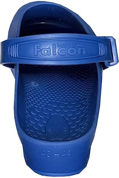 Falcon Saks Mavi Atkýlý Antistatik Otoklavlanabilir Ameliyathane Terliði (Güvenlik Kemerli)