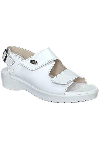 Topuk Dikeni Aðrýsý Ýçin Sandalet Bayan Beyaz EPT08AB