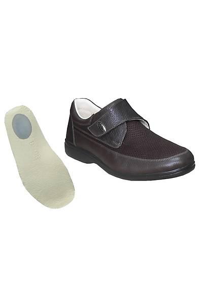 Topuk Dikeni Ayakkabýsý Erkek Yazlýk Modeli Kahverengi EPTYA51F