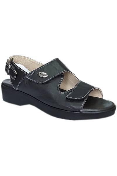 Ladyfalcon Topuk Dikeni Sandaleti Bayan Siyah EPT08AS